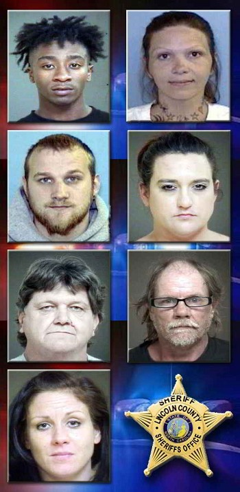 From Top Top To Bottom (L-R):Winston Shemar Baxter and Pamela Dawn MayerBrandon Chadrick Aldridge and Megan Wray CamposDwayne Spivey andDonald Curtis CarpenterKelsey Leigh Cochrane