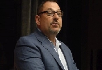 Charles Famulari was the speaker for the April 10th event.  A former New York City detective, he admitted that learning that his own daughter had been abused by a relative came as a surprise.