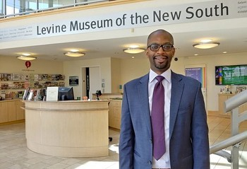 Dr. Willie Griffin, is the Historian for Levine Museum of the New South in Charlotte.