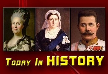 (L-R) Catherine II, Queen Victoria, and Archduke Franz Ferdinand