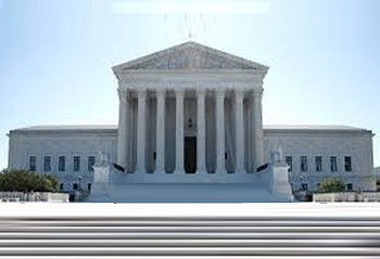 The US Supreme Court Building was first used in 1935.  Prior to that, the Court had no permanent home.