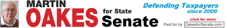 martin Oakes- Banner Ad for state senate