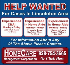 HomeCare Help Wanted