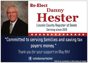 Danny Hester - 2018 Primary