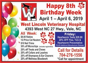 1 - West Vet Birthday 2019