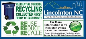 3 - City of Lincolnton - Recycle Friday