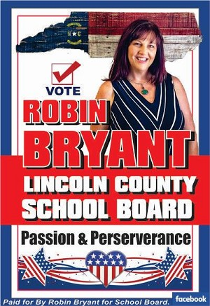 4 - Robin Bryant - For School Board