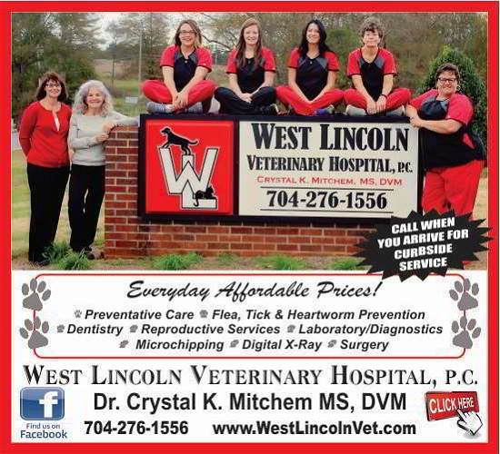 1 - West Lincoln Vet Reg Ad with PHOTO MARCH 19 2019