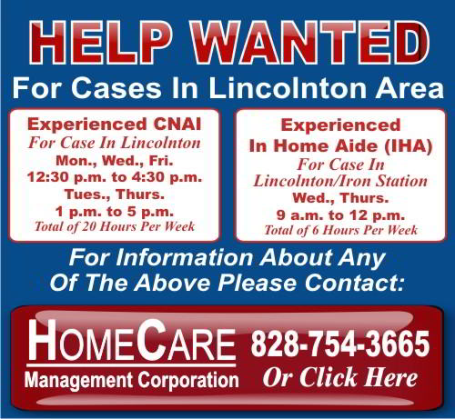 HomeCare Help Wanted CNAI, IHA