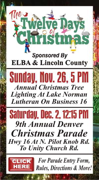 ELBA 2017 Tree Lighting Christmas Parade