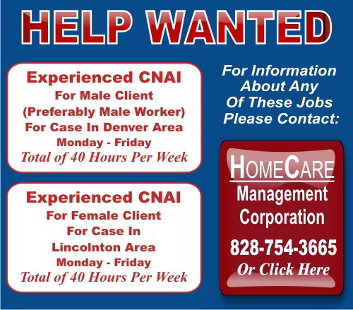Home Care Management - Help Wanted