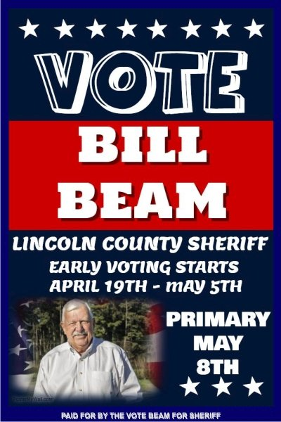 Bill Beam - Ad 003 Vote