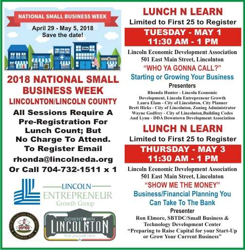 LEDA - Small Business Week 2018
