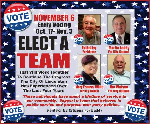 Marty Eaddy With Ed, Jim, Mary � Vote