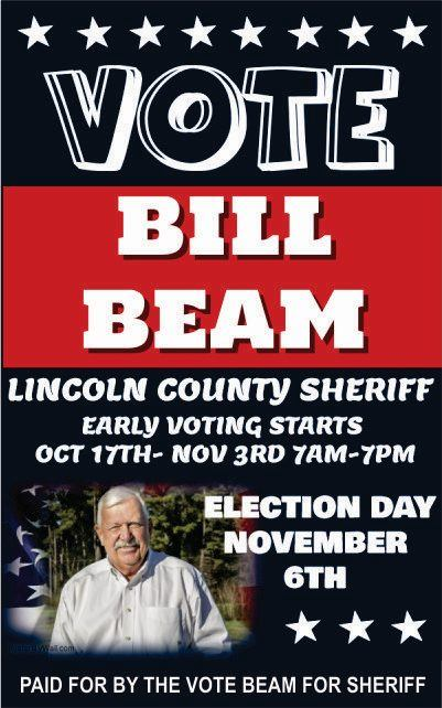 Bill Beam - 002 Ad Vote Nov