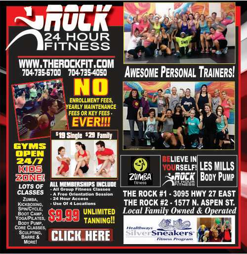 Rock Fitness - New Design