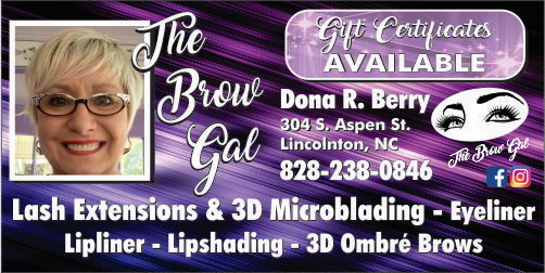 4 -  Dona R. Berry - Brow Gal