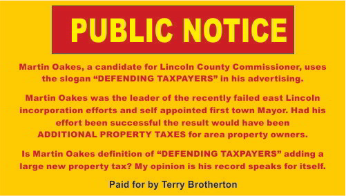 5 - Terry Brotherton - Public Notice